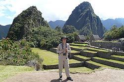 Gary Stevens' visit to Peru